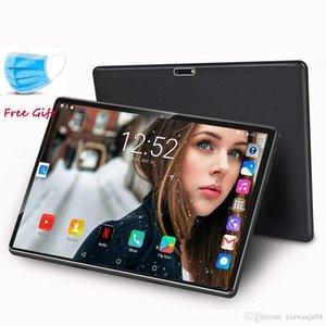 2020 New 10 polegadas 3G Tablet PC Quad Core de 1,5 GB RAM 32GB ROM 1280x800 IPS 2.5D vidro temperado 10,1 Tablets Android 7.0+ Máscara presente