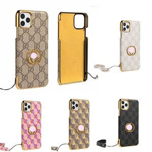 for iPhone 11 11Pro Max Designer Phone Cases for iPhone Xr Xs MAX 7 7Plus 8 8Plus Luxury Phone Case Gold-plated G Letter Case