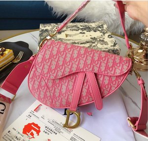 2020 designeres al por mayor bolsa de una silla alta calidad bolso rosado de moda mujer mensajero de Crossbody del embrague billetera precio barato con la caja