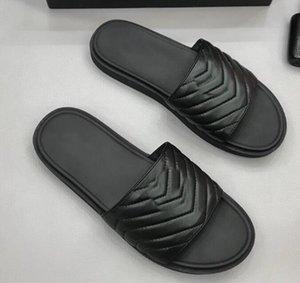 Brand New Mens del metallo dell'oro sandali piani casuali del cuoio genuino scarpe Beach Party Outdoor Nero Slipper 38-44 01d CS06