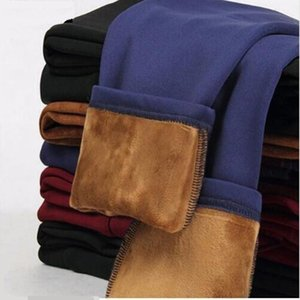 S 4Xl Lady Casual Leggings Winter Warm Velvet Thicken Leggings High Waist Pants Women Snow Hot Leggings Fleece Bootcuts P8668