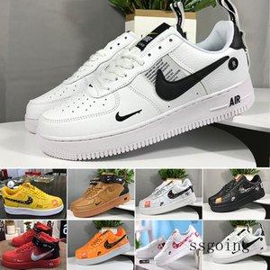 One 1 Dunk Mens outdoor Shoes Chaussures Skateboarding Black White Orange Wheat Women Men High Low Designers Trainer Platform Sneaker NHKKR