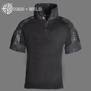 3VSSi Hanye G3 desgaste de manga curta top cpcamouflage forças especiais das crianças treinando roupas sapo roupas roupas Top sapo crianças para b