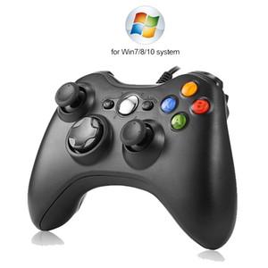 USB Kablolu Oyun Kontrolörler Titreşimli Gamepad Joystick İçin PC Denetleyici Windows, Xbox 360 Oyun Joypad için / 10/08 değil 7