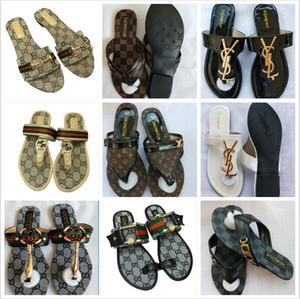 Comparar com itens semelhantes Top Quality Paris Sliders Mens Womens Verão Sandals Praia Chinelos Ladies dos falhanços Loafers Black Red White Gr