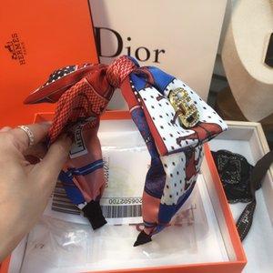 broderie vintage de haute qualité bandeau grand arc cross Accessoires cheveux bowknot mode rétro couvre-chef bandeau cheveux tendance INS Accesso BB390