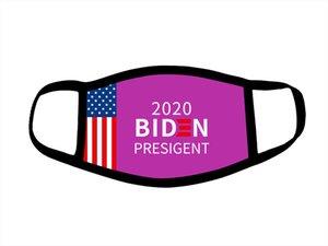 24styles Trump masque élection américaine Masques de coton Keep America Grande Encore une fois Cosplay Biden Party Masques visage anti-poussière bouche Couverture GGA3566-12