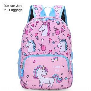 Crianças 2019 novos sacos escolares anime cartoonGirl er tong bao er tong bao Schoolbag infantil mochila