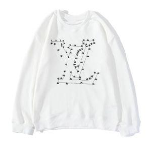 Nuovi uomini di equipaggio e maglione collo delle donne di alta qualità eccellente geometrica tecnologia digitale ricamo Alabai - nero / bianco - formato S-XXL