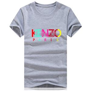 Para mujer de lujo de las lentejuelas camisetas niñas diseñador del gato impresión Parte superior ocasional de las mujeres al aire libre camiseta de la juventud caliente de la manera ropa de primeras marcas 2020 nuevo estilo