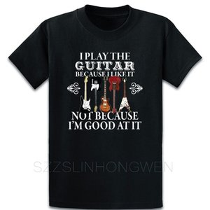 Guitar Player Electric Guitar And Acoustic Design T Shirt New Fashion Designing Letter Over Size S-5XL Spring Tee Shirt Shirt