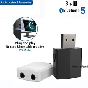 USB Bluetooth 5.0 wireless Transmitter Receiver 3 IN 1 Wireless Adapter Dongle For TV Car Kit PC earphones Speakers