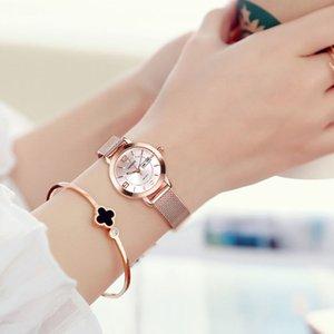 Швейцарский Подлинная Водонепроницаемый Luminous Календарь женщин Часы Мода женщин Часы Женский механические часы Студенты Простой Темперамент