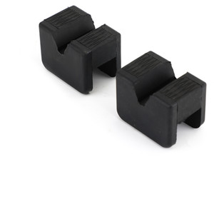 Areyourshop 2Pcs Jack Pad Adapter Fit For Universal Slotted Frame Rubber Stand 2-3 Ton Car Auto Accessories Parts