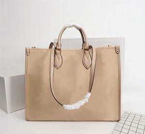 Neues Vollleder Prägung Letters tragbaren Einkauf Marke Tasche mit The New Tide Fashion Star-Beutel-Handtaschen-Frauen-Beutel