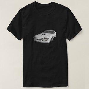 2020 Baumwolle Männer T-Shirt bedruckt 80 Camaro Sport-Auto-3D-Modell T-Shirt Frauen-T-Shirt Short Sleeve