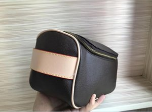 Rectangular handbag female travel cosmetic bag new designer high quality men's wash bag brand single zipper cosmetic bag