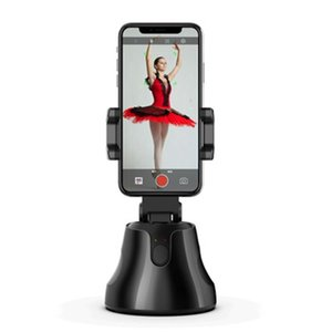 Portable All-in-one Auto Smart Shooting Selfie Stick 360 Degrees Rotation Auto Face Tracking Object Tracking Camera Phone Holder