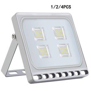 영국 증권 20W LED 홍수 빛, 100W는 등가 주도 보안 조명 IP65, 6500K, 정원, 주차장, 잔디, 마당 옥외 투광