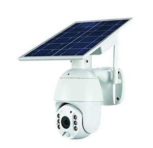 4G 태양 IP PTZ 카메라 라이트 풀 컬러 IR 비전 P2P 4G SIM 카드 IR 비전 카메라 클라우드 스토리지 카메라 Anspo