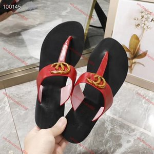 xshfbcl mens womens fashion Leather Thong Sandals with gold-toned detail unisex causal slippers beach flats rubber flip flops