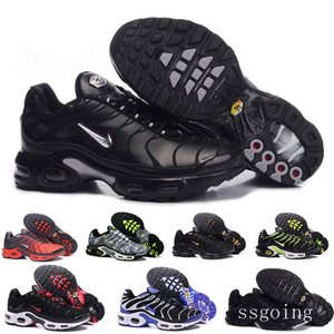 2019 Newest Men Zapatillas TN Designers Sneakers Chaussures Homme Men Basketball Shoes Mens Mercurial TN Running Shoes Eur40-46 NHKKR