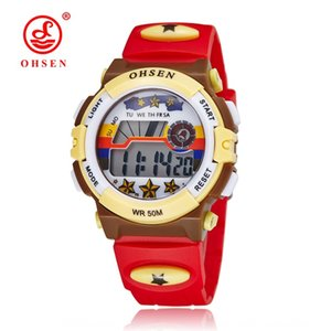Aosheng LED fashion multi-functional Outdoor sports outdoor sports electronic watch for boys and girls 1603