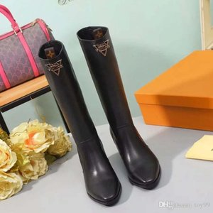 Fashion Designer Women Boots Best Quality Star Trail Lace-up Ankle Boots With heavy-duty soles leisure lady boots By toy99 L3111