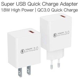 JAKCOM QC3 Super USB rápida adaptador de carga Novo Produto de adaptadores de telefone celular como decoração de quartzo rosa duende do natal plugue anal