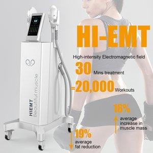 uso en el hogar y salón de estética del producto más nuevo para crear músculo quema equipo de la belleza delgada de grasa / músculo electromagnética Trainer