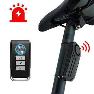 Télécommande vélo électrique de sécurité anti-vol capteur de vibrations d'avertissement de sécurité Motocycle Véhicule Voiture Alarme Anti Perdu Remind