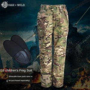 calças Widdk Hanye G3 infantis cpcamouflage forças especiais sapo roupas roupas dos homens e crianças sapo roupas femininas formação Clothin