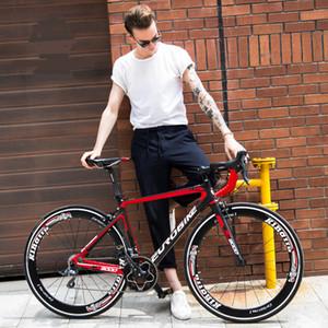 نيو طريق العلامة التجارية الألياف دراجة الكربون الإطار 16/18/20/22 سرعة 700CC عجلة سباق الدراجات دراجة الرياضة في الهواء الطلق Bicicleta