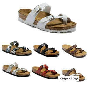 Wholesale 12 Color Mayari Florida Arizona Hot Sell Summer Men Women Flats Sandals Cork Unisex Beach Slippers Size 34-46 In Stock