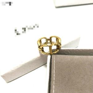 2020 Nouvelle famille D / Di anneau famille femme tempérament lettre CD net collier bracelet boucles d'oreilles en bronze