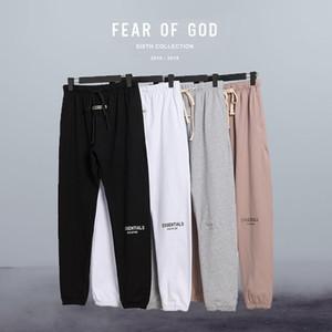 Temor de Deus Streetwear FOG Calças Essentials sólidos a granel confortáveis calças de Inverno Homens OverSize Moda Outono corrida Sweatpants Casual