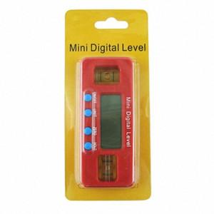360 degrés Mini Digital Protractor viseur d'angle Niveau électronique inclinomètre Angle bas magnétique outil de mesure wwUU #