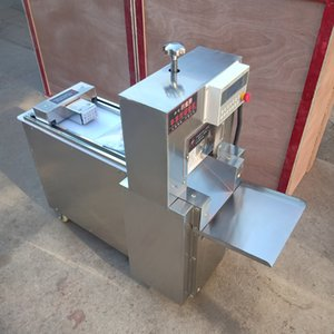 Fully automatic high-efficiency meat cutter CNC single-cut beef and mutton roll machine stainless steel lamb roll making machine