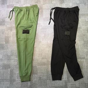 2020 Mens estilista Pista Pantalón de estilo casual para hombre de la azada de Venta camuflaje Joggers pantalones deportivos Pantalones Pantalón cargo Pantalones Harem elástico de la cintura de los hombres