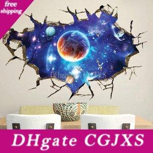 Creative 3D nouveau fond mur papier peint stickers muraux ciel imaginaire de salon TV peinture décorative autocollants PVC