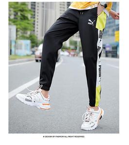 Men « S Multi poches Cargo sarouel Hip Hop Casual Male piste Pantalons Joggers Pantalons Mode Harajuku Hommes Pantalons 2020 Nouveau 1109