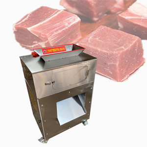 Multifunctional Stainless Steel Diced Chicken Cube Cutting Machine Meat Slicer  Automatic  Beef Cube Dicer 1pc