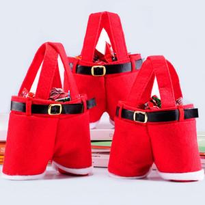 Regali di Natale Borsa Tote Bags piccole caramelle Funny Santa Claus shaped 13 centimetri Bag per i bambini Bambini decorazione del partito