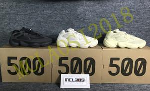 2020 nuevos Kanye West 500 hombres, mujeres zapatillas de deporte zapatillas de deporte y zapatillas de deporte al aire libre de los deportes de los hombres, shoes.500 A1
