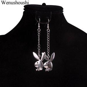 8cm new fashion ear head chain dangle earrings earring party club wear jewelry accessories statement long earring