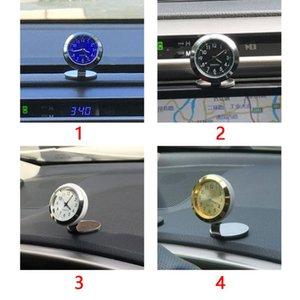 Temperature Car Dashboard Interior Charms Watch Accessories Digital Hygrometer Ornaments Clock