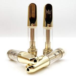 CUREPEN Svuotare Vape Pen cartuccia ceramica 0.8ml Coil Dab vaporizzatore 510 filo grosso olio Carrelli atomizzatore sigarette con tubo di plastica