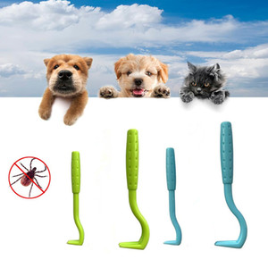 2PCS Pet Flea Remover Tool Scratching Hook Remover Pet Cat Dog Grooming Supplies Tick Picker Flea Removal Tool Pet Comb