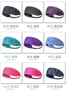 Colorful Men's women's sports yoga fitness perspiration head Bicycle hair band cycling hair band Sports headscarf