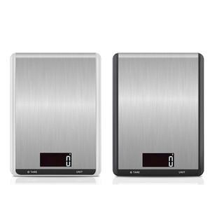 Dijital Mutfak Gıda Ölçeği Ağırlığı gram ve Pişirme LCD Ekran Paslanmaz Çelik 22 lbs / 10 kg JK2005KD Pişirme için oz